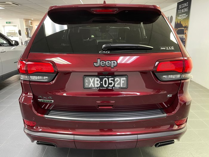 2020 Jeep Grand Cherokee S-Limited WK MY20 4X4 Dual Range Velvet Red