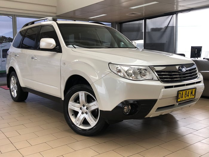 2010 Subaru Forester XS Premium S3 MY10 Four Wheel Drive Satin White Pearl
