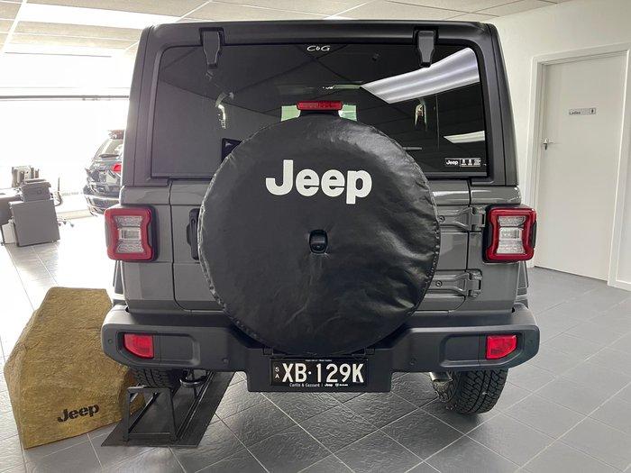 2020 Jeep Wrangler Sport S JL MY21 4X4 Dual Range Sting Grey