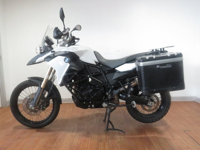 2014 BMW F 800 GS WHITE