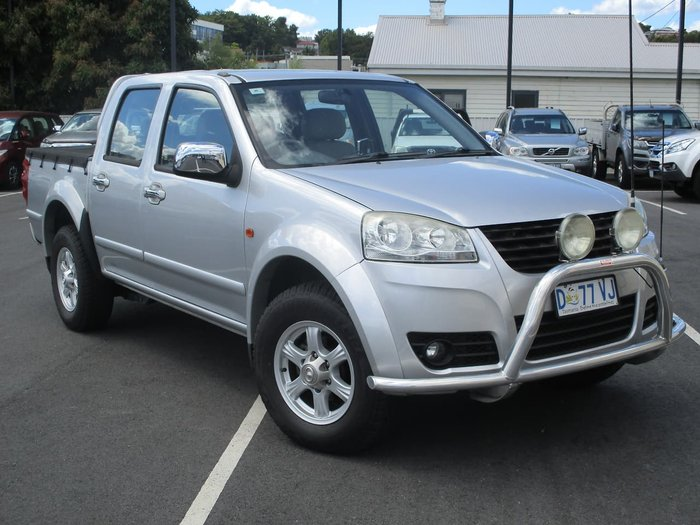 2013 Great Wall V200 K2 MY13 4X4 Silver