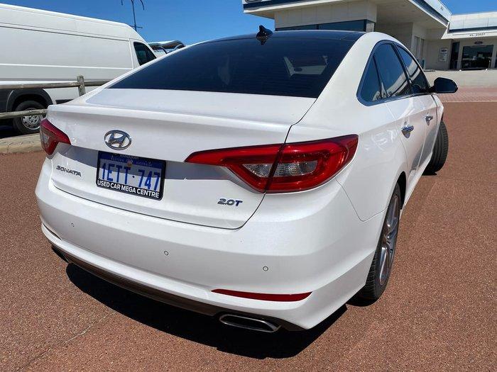 2015 Hyundai Sonata Premium LF White