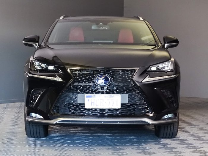 2018 Lexus NX NX300h F Sport AYZ15R 4X4 On Demand Black