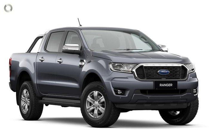 2021 Ford Ranger XLT PX MkIII Meteor Grey