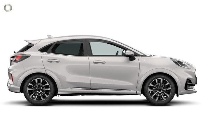2021 Ford Puma ST-Line V JK MY21.25 Metropolis White