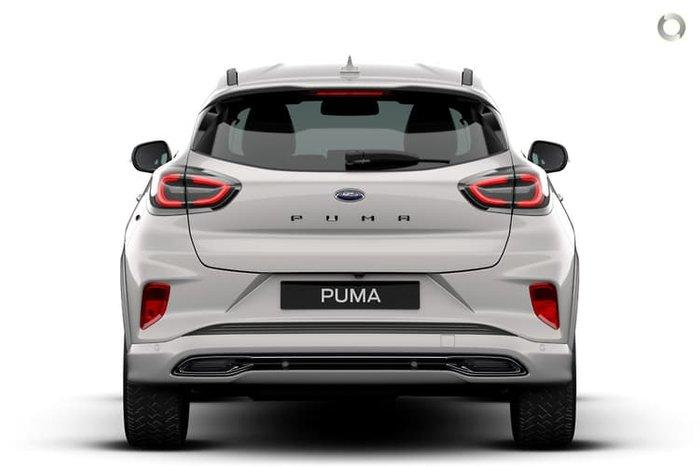 2020 Ford Puma ST-Line V JK MY21.25 Metropolis White