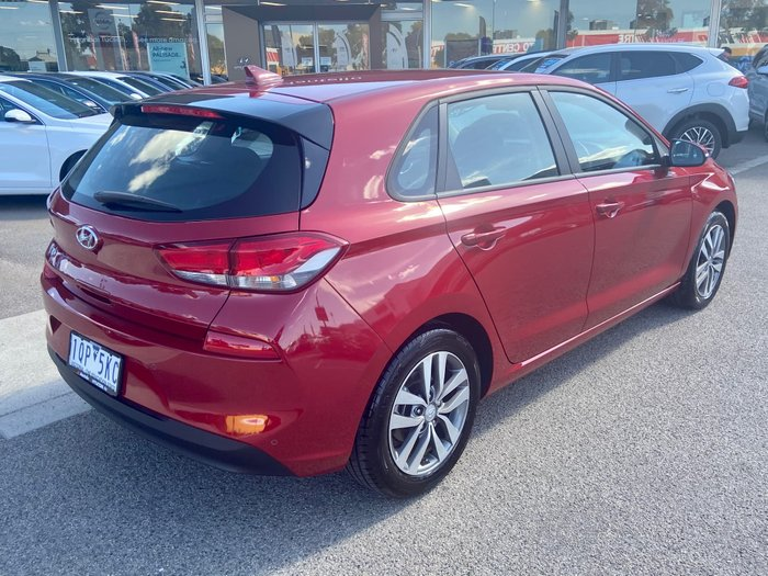 2019 Hyundai i30 Active PD2 MY19 Fiery Red