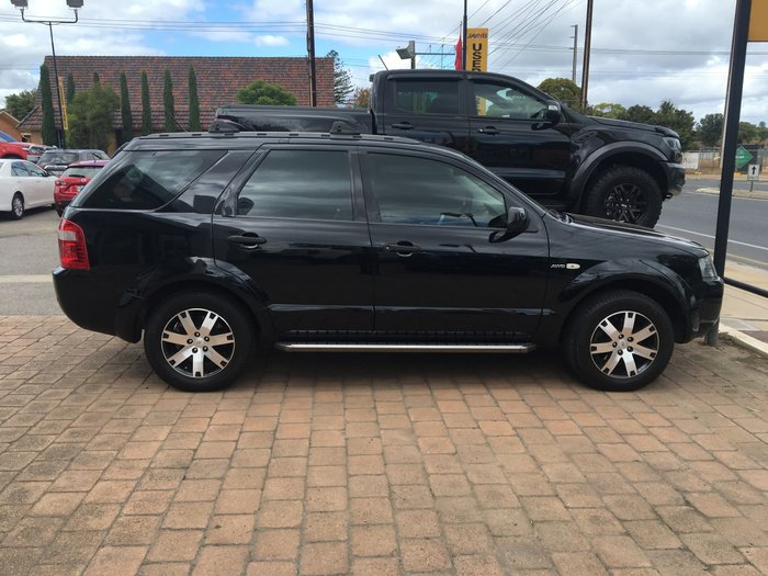 2008 Ford Territory SR SY Four Wheel Drive Silhouette