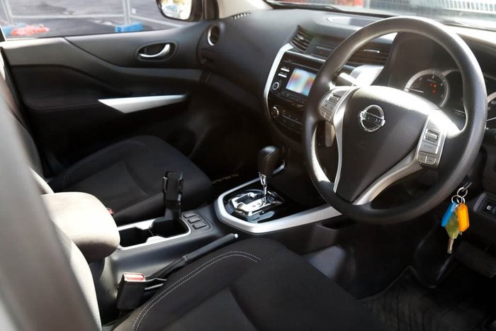 2019 Nissan Navara SL D23 Series 3 4X4 Dual Range Brilliant Silver