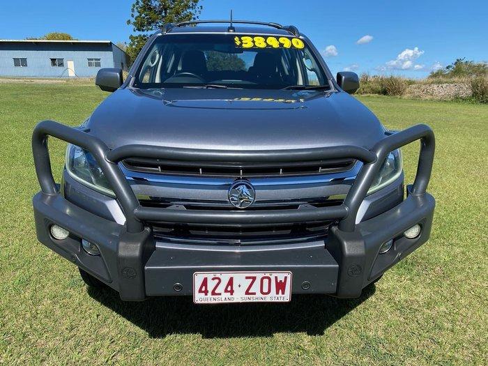2016 Holden Trailblazer LT RG MY17 4X4 Dual Range Grey