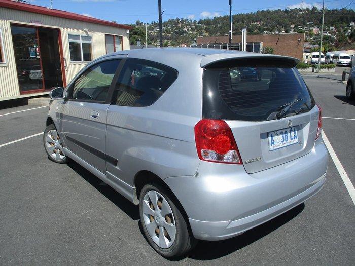 2008 Holden Barina TK MY08 Silver