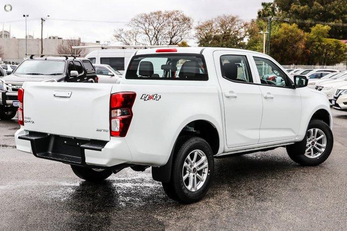 2020 Isuzu D-MAX LS-M MY21 4X4 Dual Range Mineral White