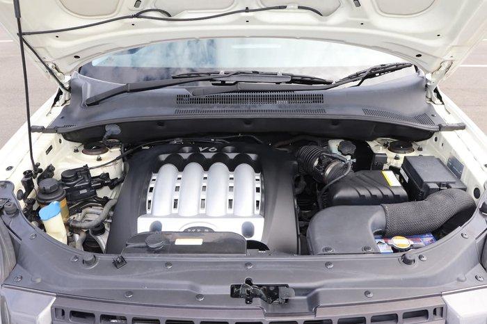 2005 Kia Sportage KM 4X4 Dual Range White