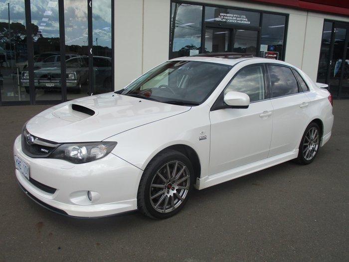 2010 Subaru Impreza WRX Club Spec 10 G3 MY10 Four Wheel Drive Satin White Pearl