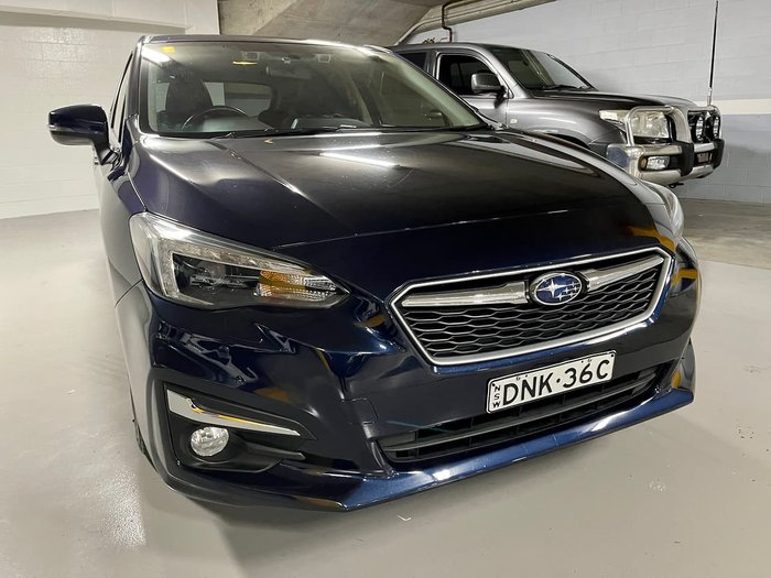 2017 Subaru Impreza 2.0i-S G5 MY17 Four Wheel Drive Blue