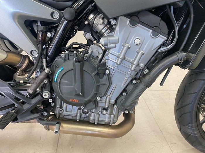 2018 Ktm 790 DUKE silver