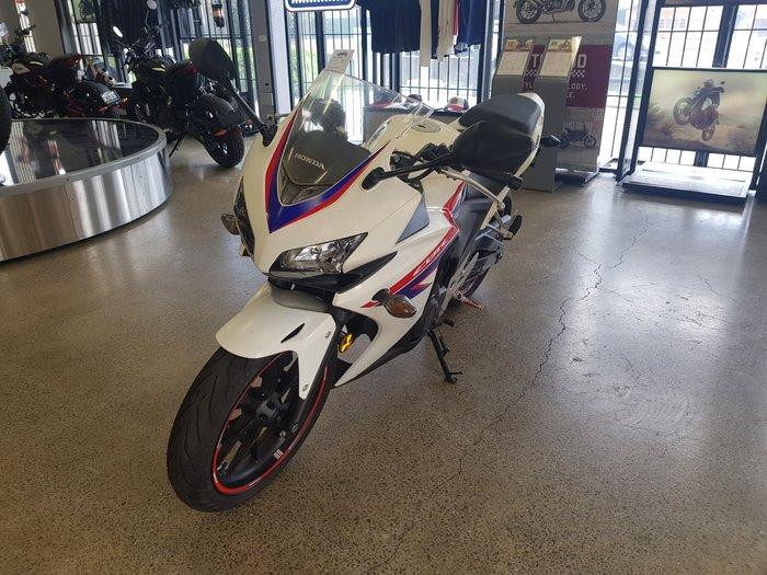 2013 Honda CBR500R White