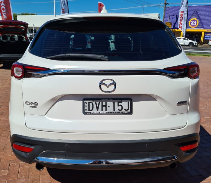 2018 Mazda CX-9 Azami TC 4X4 On Demand Snowflake White Pearl Mica