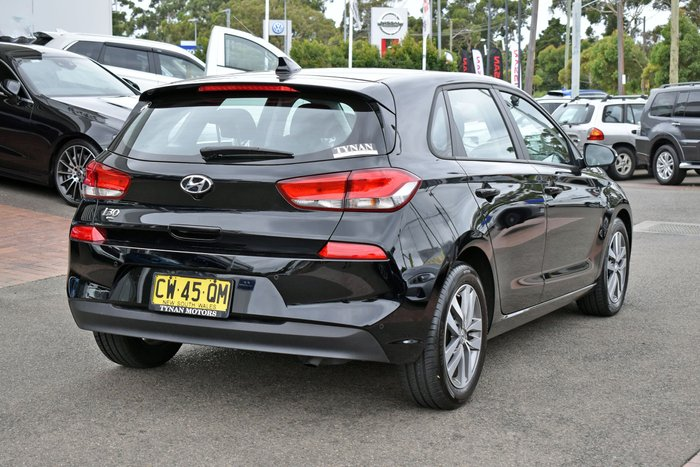 2018 Hyundai i30 Active PD2 MY19 Phantom Black