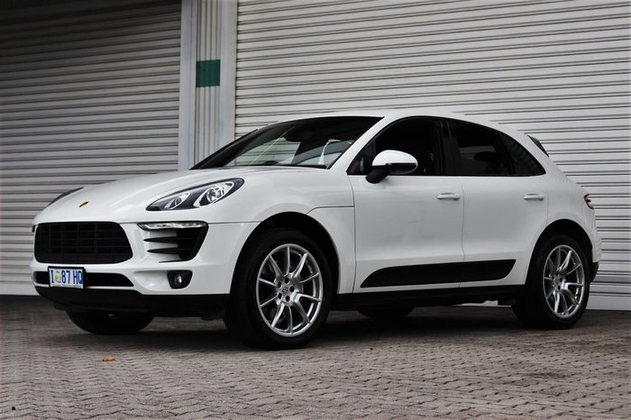 2014 Porsche Macan S 95B MY15 Four Wheel Drive White