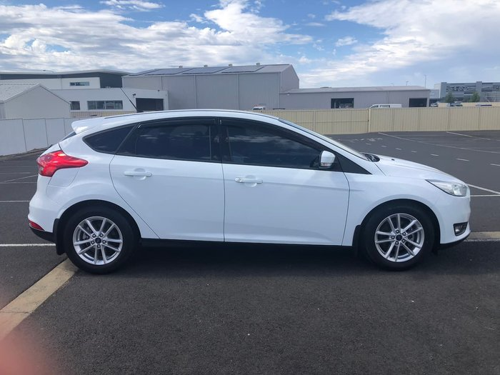 2017 Ford Focus Trend LZ White