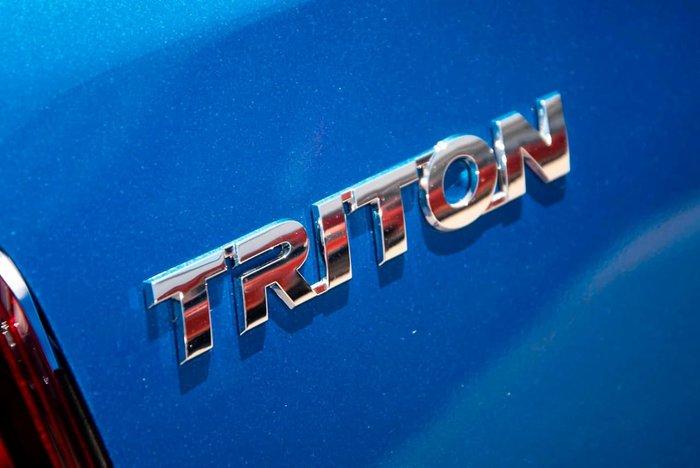 2021 Mitsubishi Triton GLX+ MR MY21 4X4 Dual Range Blue