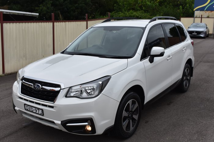 2017 Subaru Forester 2.5i-L S4 MY18 Four Wheel Drive Crystal White