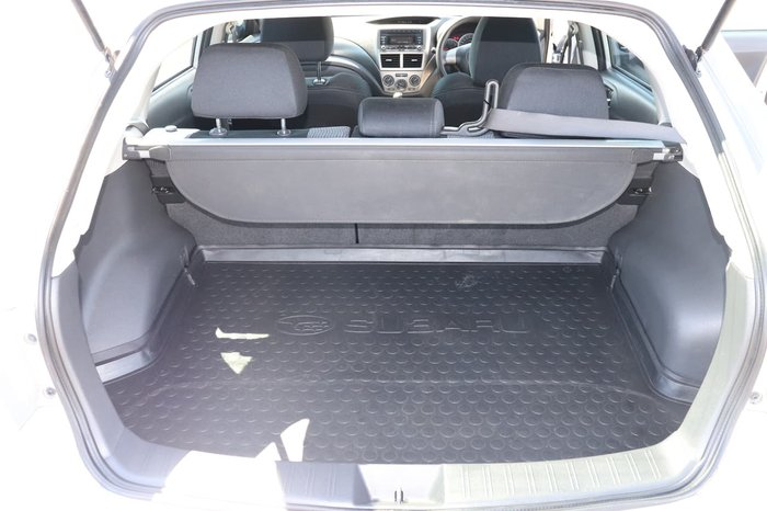 2007 Subaru Impreza R G3 MY08 Four Wheel Drive Silver