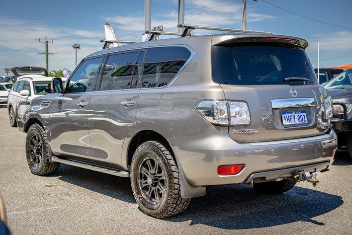 2013 Nissan Patrol Ti-L Y62 4X4 Dual Range Silver
