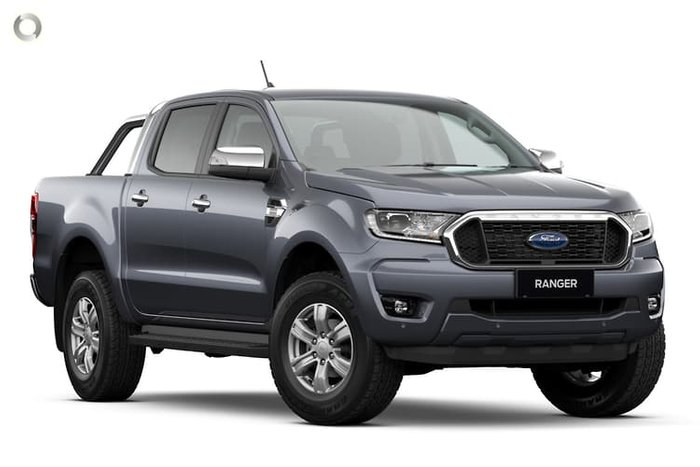 2021 Ford Ranger XLT PX MkIII MY21.25 4X4 Dual Range Meteor Grey