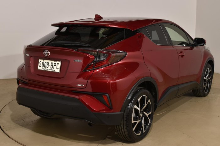 2017 Toyota C-HR Koba NGX50R 4X4 On Demand Atomic Rush