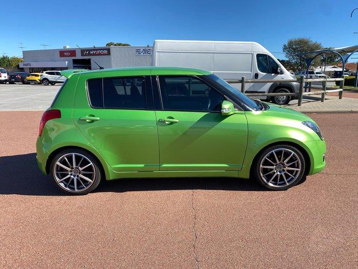 2010 Suzuki Swift RE4 RS415 Green
