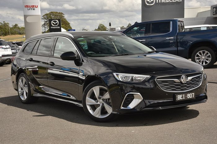 2019 Holden Commodore RS-V ZB MY19 4X4 On Demand Black