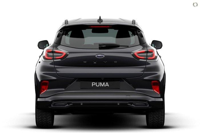 2020 Ford Puma ST-Line V JK MY21.25 Black