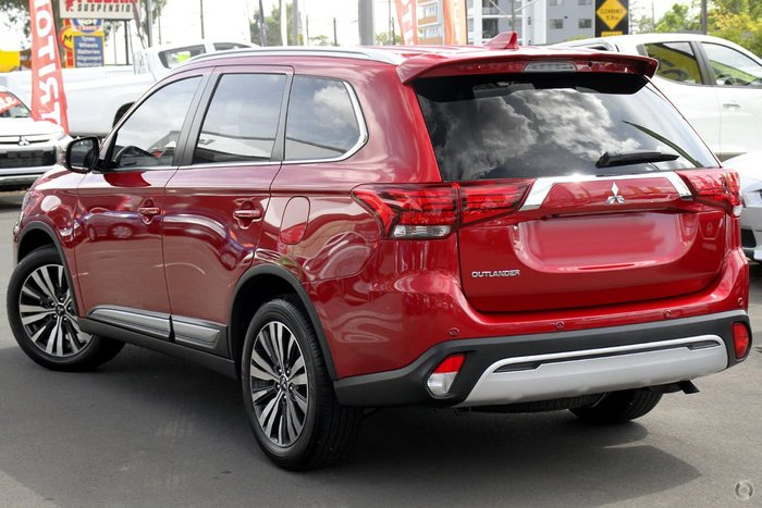 2021 Mitsubishi Outlander Exceed ZL MY21 4X4 On Demand Red