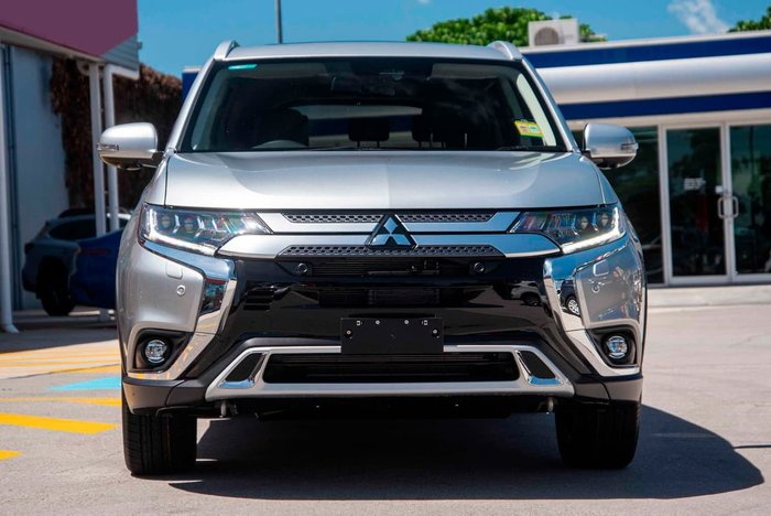 2021 Mitsubishi Outlander Exceed ZL MY21 4X4 On Demand Silver