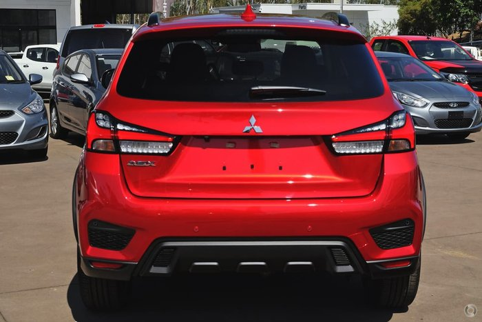 2021 Mitsubishi ASX Exceed XD MY21 Red