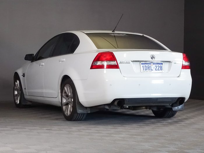 2011 Holden Berlina VE Series II White