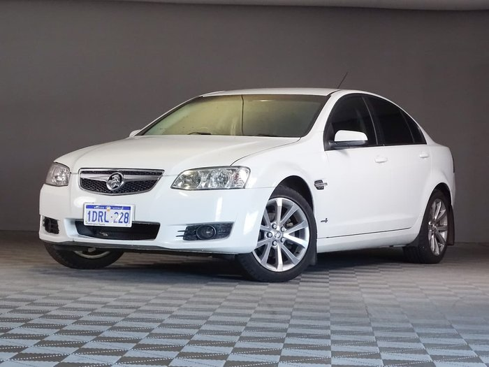 2011 Holden Berlina VE Series II White