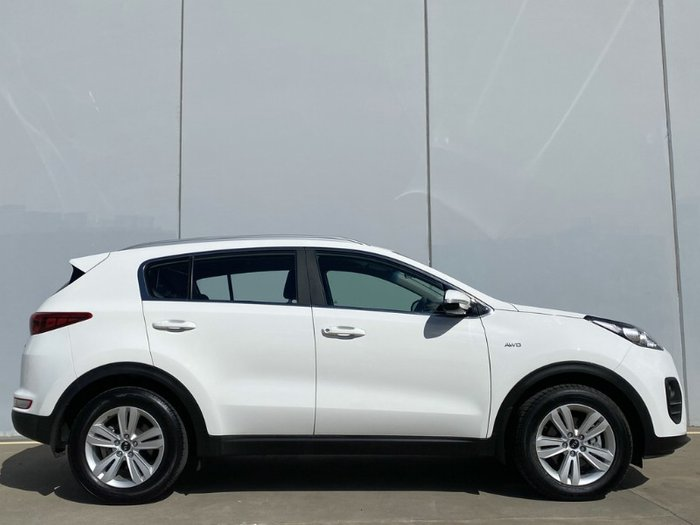 2017 Kia Sportage Si QL MY17 4X4 On Demand CLEAR WHITE