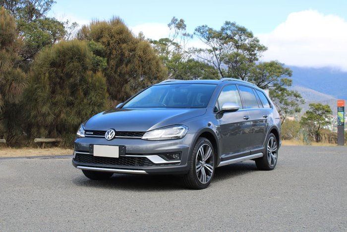 2017 Volkswagen Golf Alltrack 135TDI Premium 7.5 MY17 Four Wheel Drive Grey