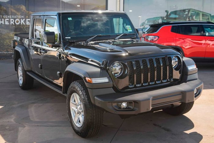 2020 Jeep Gladiator Sport S JT MY21 4X4 On Demand Black