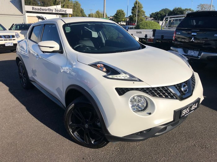 2019 Nissan JUKE Ti-S F15 MY18 4X4 On Demand White