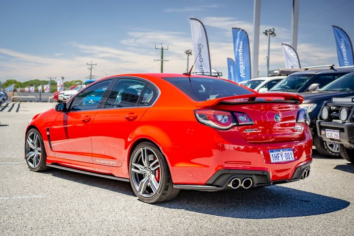 2016 Holden Special Vehicles Clubsport R8 LSA GEN-F2 MY16 Red