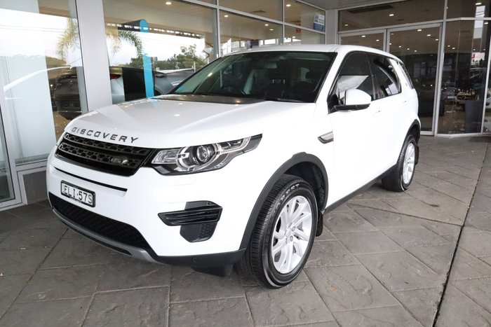 2017 Land Rover Discovery Sport TD4 180 SE L550 MY17 4X4 Constant Fuji White