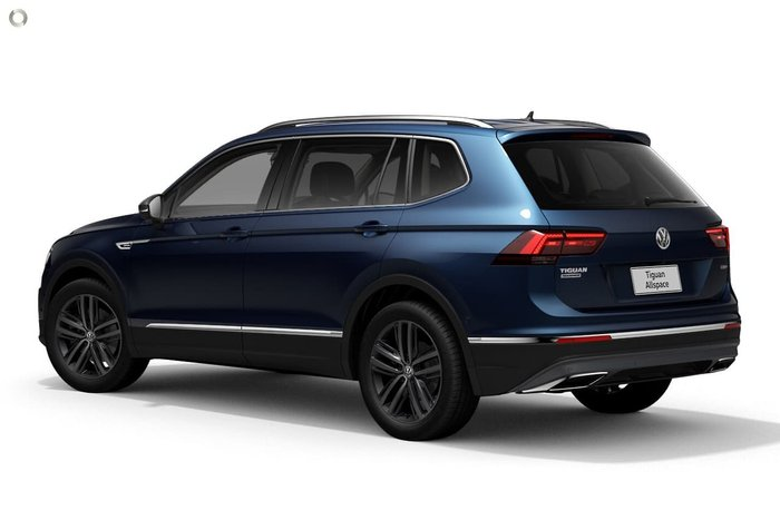 2021 Volkswagen Tiguan 162TSI Highline Allspace 5N MY21 Four Wheel Drive Blue