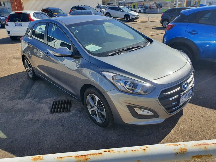 2017 Hyundai i30 Active X GD4 Series II MY17 Grey