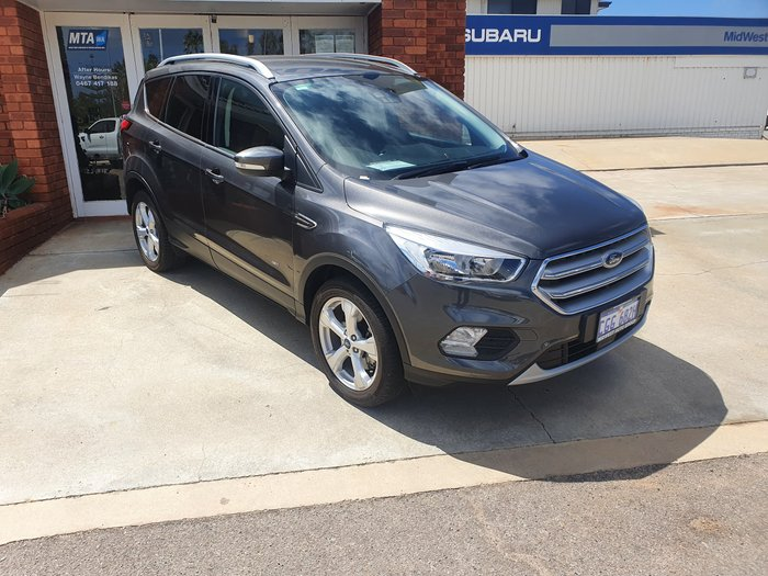 2019 Ford Escape Trend ZG MY19.75 4X4 On Demand Magnetic
