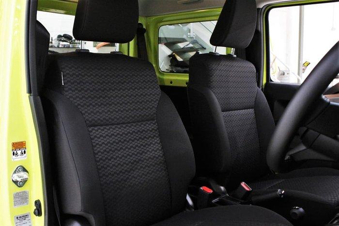 2020 Suzuki Jimny GJ 4X4 Dual Range Yellow
