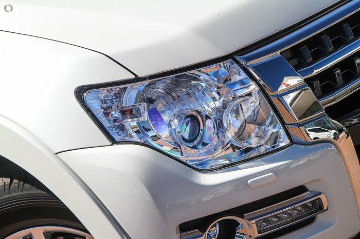2021 Mitsubishi Pajero Exceed NX MY21 4X4 Dual Range White
